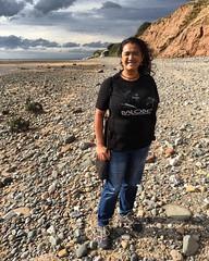 Photo of Proud to wear @kaos_balobe in Wirral Country Park at the Dee Estuary.   Bangga memamerkan kaos Balobe di Taman nasional Wirral, Inggris Barat Laut. Tepatnya di Muara Sungai Dee.  #balobe #papuaphotography #kaosbalobe #wirralcountrypark #wirral #deeestuary