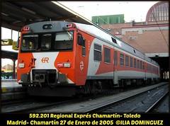 il033 (ribot85) Tags: atomico toledo chamartin tren trenes trains train railways renfe railroad regional regionales regionalexpres man automotor