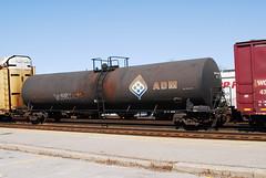 ADMX 25901 23,000 gallon tankcar Cobourg, Ontario Canada 04202007 Ian A. McCord (ocrr4204) Tags: railroad ontario canada cn wagon nikon tank adm rail railway railcar traincar d200 mccord tanker cnr tankcar railroadcar cobourg cnrail 23000 freightcar archerdanielsmidland citerne railwaycar admx 1000000railcars ianmccord wagonciterne ianamccord