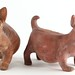 223. (2) Mexican Pottery Dogs