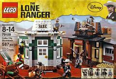 LEGO The Lone Ranger 79109 - Colby City Showdown (THE BRICK TIME Team) Tags: red brick hammer train john toy ranger lego fair disney western reid johnny lone depp tonto stein cavalry armie 2013