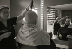 A French Barber (The Nexus) Tags: travel vacation france film spring kodak caen 2012 leicam7 xtol11 leicasummilux50mmf14ii