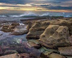 La Jolla Tide Pool (mojo2u) Tags: ocean california sunset sandiego lajolla tidepool nikon2470mm nikond800