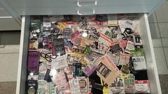 Cheap Trick passes and badges @ Rick's Picks (Rick Nielsen/Cheap Trick exhibit) (DaleAgogo) Tags: music museum rockroll backstagepass rockford rickspicks cheaptrick ricknielsen burpeemuseum