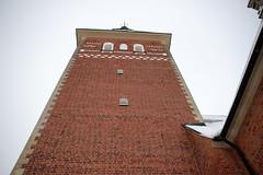 Look up (Yvonne L Sweden) Tags: sweden churchtower kyrkfnster kyrktorn tegelbyggnad jderskyrka