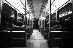 TTC Streetcar (Ed Tse) Tags: bw toronto ontario canada ttc sony voigtlander 7 15 f45 mm streetcar nex sonynex7