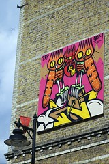DSCREET (tombomb20) Tags: street uk light party england urban streetart art lamp plane graffiti paint bc candy board aeroplane spray burning graff 2012 gdm whitecross trp dscreet tek33 tombomb20