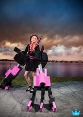 Nafhe (elitecosplay) Tags: pink black rock harbor hands arms cosplay national elite shooter 19 con katsu gaylord katsucon 2013 nafhe