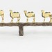 5019. Carved Ivory Miniature Animal Grouping