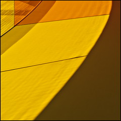 A sunny day (Maerten Prins) Tags: shadow panorama orange sunlight color colour glass lines yellow museum denmark rainbow aros curve eliasson olafur arhus cirves