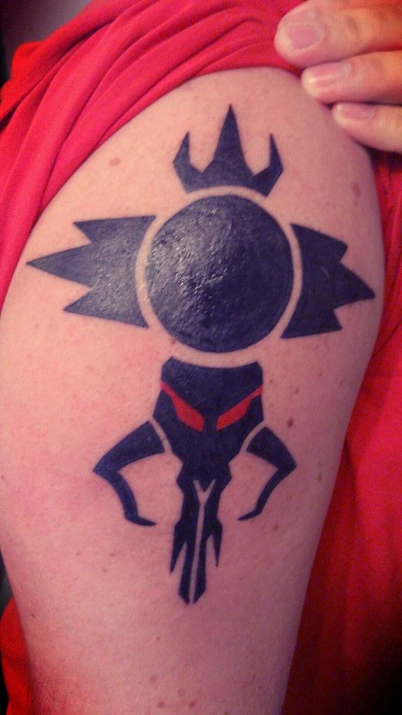 20 Sith Symbol Tattoo Designs For Men – Star Wars Ink Ideas