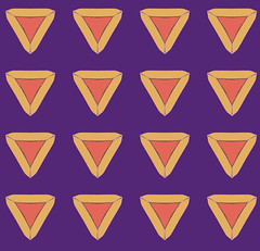 Many Many Hamentashen (randubnick) Tags: art pattern drawing digitalart purim painter judaica hamentashen digitalpastel capturepattern painter12 kaleidoscopemode