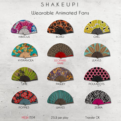 Shakeup! The Arcade Fans (Shakeup!) Tags: secondlife accesories shakeup gacha thearcade animatedfan
