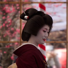 Tea Ceremony 30 (KyotoDreamTrips) Tags: japan kyoto teaceremony   plumblossomfestival  sugawaranomichizane kitanotenmangu