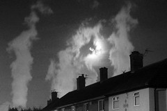 Ghosts over Teeside (Festcu) Tags: smoke towers steam teesside chemical cooling billingham ici