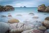 Porth Nanven (Chris Beard - Images) Tags: uk winter sea england seascape landscape coast rocks cornwall tide boulders february porthnanven
