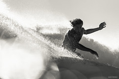 Soli Bailey unleashing... (alexfringsphoto) Tags: ocean skull waves power candy australia surfing billabong byronbay arnette roundhouse solibailey alexfrings