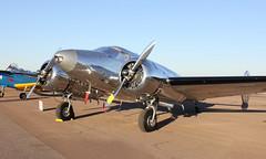 Beech D18S N1140 (ChrisK48) Tags: airplane aircraft 18 beechcraft 1946 d18 cgz beechd18s kcgz casagrandeaz casagrandemunicipalairport n1140 cactusflyin2013 cna129
