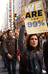 We Are The 99% (thethingsitdoes) Tags: nyc newyork protest wallstreet occupywallstreet wearethe99