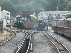 Getting Ready to Return (Worthing Wanderer) Tags: summer wales july railway steam 2009 ffestiniog narrowgauge ffestiniograilway gwynnedd