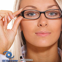 Business woman with spectacles (wowdeal photo) Tags: people woman white girl beautiful beauty face look female work person corporate glasses marketing student team eyes pretty alone adult think professional business company reception blonde attractive worker secretary intellectual executive job success colleague isolated assistant intelligent receptionist clerk businesswoman successful russianfederation educated businessperson fairhaired