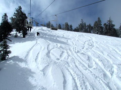 3-08-13 Bear Mountain (Big Bear Mountain Resorts) Tags: snowboarding skiing powder bearmountain bigbearlake freshsnow newsnow