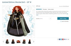 Limited Edition Merida Doll - 18'' H - AVAILABLE AGAIN - US Disney Store Product Page - 2013-03-15 (drj1828) Tags: us merida online brave limitededition available disneystore