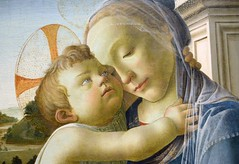 """Virgin and Child with an Angel,"" Botticelli  (1475/85) (ngclark) Tags: artinstitute botticelli"