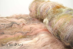Dusk (beesybee) Tags: wool felting spinning needlefelting supplies roving carding batts handdyedwool spinningfiber nunofelting handpaintedwool artbatt beesybee handdyedcombedtop