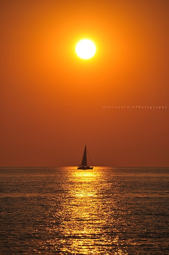 Sailing in the Sunset