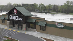 White TPO and Standing Seam Metal on Gander Mountain, Onalaska, WI