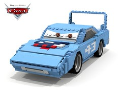 Disney Pixar Cars - Mr The King (lego911) Tags: