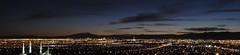 Las Vegas Skyline from East Side of Las Vegas, Nevada