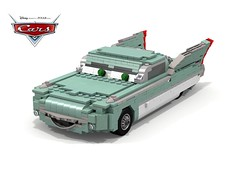 Disney Pixar Cars - Flo (lego911) Tags: