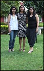 Three of the four (Nagarjun) Tags: bangalore ruchi kaushal vedant anindita ipsita malathi sowmya murli casaansal
