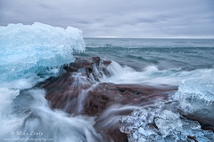 Superiors wash (Mike Lentz Photography) Tags: snow ice water northshore schroeder duluth lakesuperior hovland grandportage stoneypoint tofte grandmarias hollowrock scenichwy61 littlemarais minnesotasnorthshore