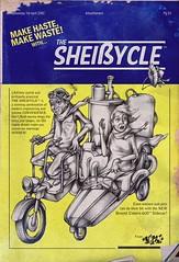 The Scheiycle (Seprello) Tags: zine bike paper bristol shit bronte cistern sepr scheisycle