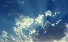 سماء الرياض (مساعد المنصور) Tags: sky سماء سحاب ازرق ابيض