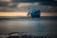 M/V Ever Transport III New colored version) (cardijo) Tags: longexposure sunset sea meer ship sony philippines sunken sonnenaufgang schiff verlassen philippinen langzeitbelichtung abandond dockbay a700 bestcapturesaoi elitegalleryaoi bestevercompetitiongroup kurtpeiserexcellence