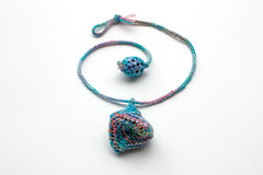 Summer Bell (rRradionica) Tags: necklace handmade craft accessories etsy knitted accessory rrradionica