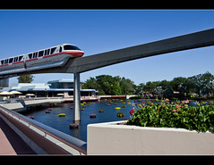 Monorail Monday XL - Volume 3 (DugJax) Tags: monorail waltdisneyworld epcotcenter futureworld ef1740mmf4lusm monorailcoral canonrebelt2i