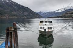 Lady of the Lake (Andrew E. Larsen) Tags: reflection water boat washington lakechelan papalars andrewlarsenphotography