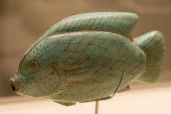 Vessel in the Form of a Fish (mark6mauno) Tags: county fish art faience museum losangeles los nikon angeles egypt vessel nikkor lacma d4 105mmf28dmicro nikond4