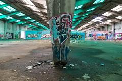 La Fabrica - 48 (r2hox) Tags: graffiti urbanart santiagodecompostela arteurbano abandonedspaces