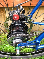 Shimano Alfine 8 (joeball) Tags: new mountain bike bar analog 8 drop soma avid build shifter gar 8track shimano barend lotsofnotes eighttrack jtek igh bb7 alfine origin8