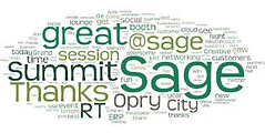 word cloud shades of green (slompashirt) Tags: wordcloud