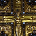 Upper Cover, Lindau Gospels, detail with Christ (close)