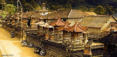 "Morning Glow, Bali (scinta1) Tags: kedisan kintamani bali village desa batur temple pura manipulation modified digital digitalart art architecture motorbike roof traditional glow artdigital extraordinarilyimpressive ""exoticimage"" shrine beautiful happyplanet asiafavorites"