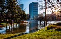 GRAND RAPIDS FLOOD 2013-1428 (RichardDemingPhotography) Tags: flooding flood michigan grandrapids grandriver grandrapidsmichigan floodwater westmichigan downtowngrandrapids puremichigan flood2013 michiganflooding grandrapidsflood