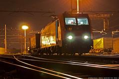 Interruzioni... (Raffaele Russo (LeleD445)) Tags: railroad rotterdam italia milano sbb cargo container svizzera bombardier lok traxx gottardo chiasso railfans smistamento lokzug e484